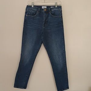 William Rast Sweet Mama high rise skinny 28 EUC